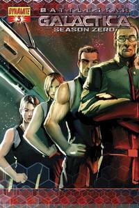 Cover Thumbnail for Battlestar Galactica: Season Zero (Dynamite Entertainment, 2007 series) #3 [Stjepan Sejic Cover]