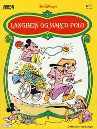 Cover Thumbnail for Langbein album (Hjemmet / Egmont, 1977 series) #4 - Langbein og Marco Polo