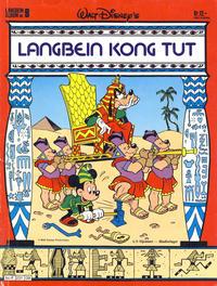 Cover Thumbnail for Langbein album (Hjemmet / Egmont, 1977 series) #9 - Langbein Kong Tut