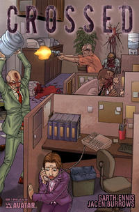 Cover Thumbnail for Crossed (Avatar Press, 2008 series) #7 [Wraparound Cover - Jacen Burrows]