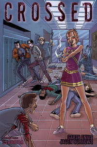 Cover Thumbnail for Crossed (Avatar Press, 2008 series) #8 [Wraparound Cover - Jacen Burrows]