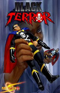 Cover Thumbnail for Black Terror (Dynamite Entertainment, 2008 series) #11 [Alex Ross Cover]