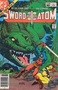Cover Thumbnail for Sword of the Atom (DC, 1983 series) #3 [Newsstand]