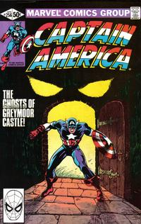 Cover Thumbnail for Captain America (Marvel, 1968 series) #256 [Direct]