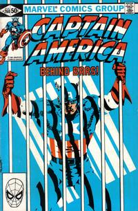 Cover Thumbnail for Captain America (Marvel, 1968 series) #260 [Direct Edition]