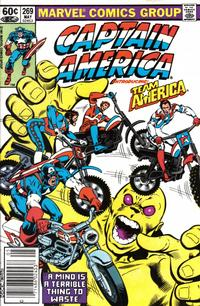 Cover Thumbnail for Captain America (Marvel, 1968 series) #269 [Newsstand Edition]