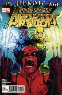 Cover Thumbnail for New Avengers (Marvel, 2010 series) #3