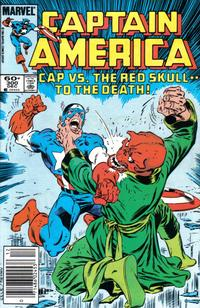 Cover Thumbnail for Captain America (Marvel, 1968 series) #300 [Newsstand Edition]