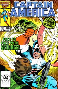 Cover Thumbnail for Captain America (Marvel, 1968 series) #320 [Direct Edition]