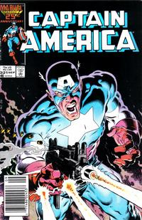 Cover Thumbnail for Captain America (Marvel, 1968 series) #321 [Newsstand Edition]