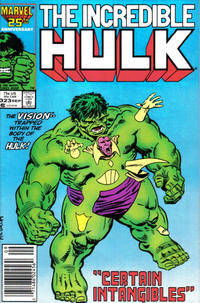 Cover Thumbnail for The Incredible Hulk (Marvel, 1968 series) #323 [Newsstand Edition]