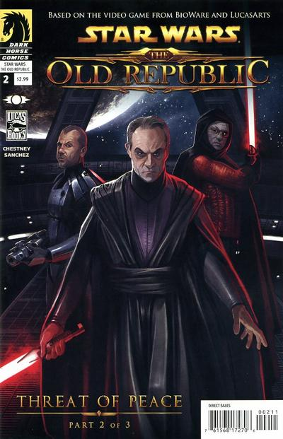 Cover for Star Wars: The Old Republic (Dark Horse, 2010 series) #2