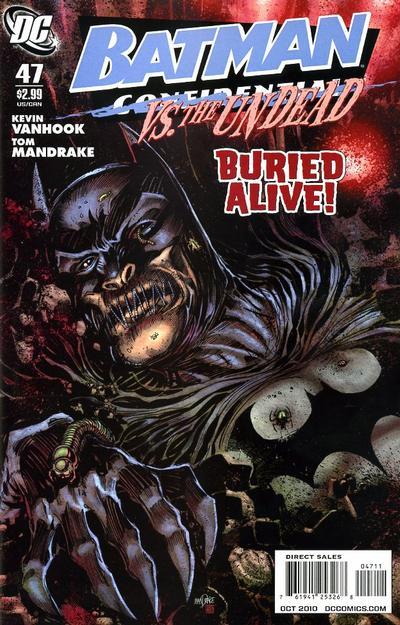Cover for Batman Confidential (DC, 2007 series) #47