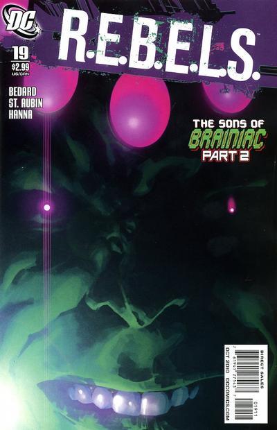 Cover for R.E.B.E.L.S. (DC, 2009 series) #19