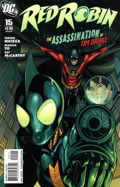 Cover for Red Robin (DC, 2009 series) #15