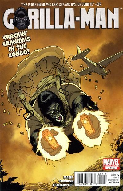 Cover for Gorilla Man (Marvel, 2010 series) #2
