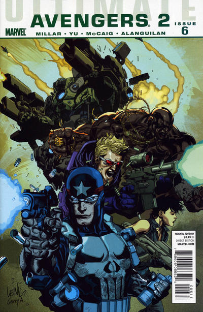 Cover for Ultimate Avengers (Marvel, 2009 series) #12