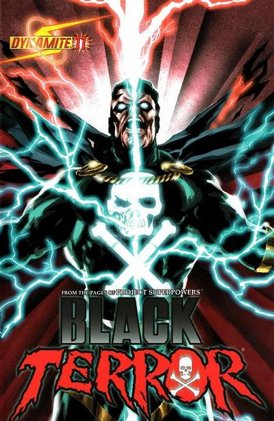 Cover for Black Terror (Dynamite Entertainment, 2008 series) #11 [Wagner Reis Cover]