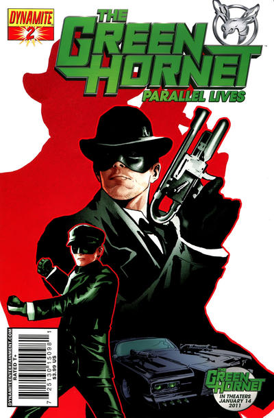 Cover for Green Hornet: Parallel Lives (Dynamite Entertainment, 2010 series) #2 [Negative Art RI]