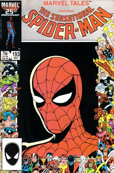 Cover for Marvel Tales (Marvel, 1966 series) #193 [Newsstand]