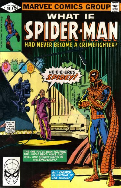 Cover for What If? (Marvel, 1977 series) #19 [Newsstand]