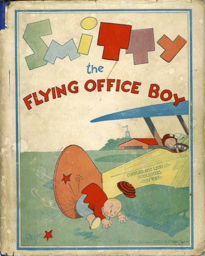 Cover for Smitty the Flying Office Boy (Cupples & Leon, 1930 series)