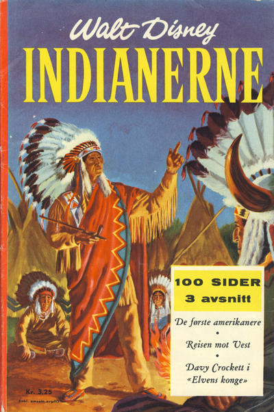 Cover for Indianerne (Hjemmet / Egmont, 1959 series)