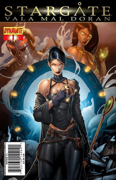 Cover for Stargate: Vala Mal Doran (Dynamite Entertainment, 2010 series) #1