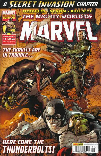 Cover for The Mighty World of Marvel (Panini UK, 2009 series) #12