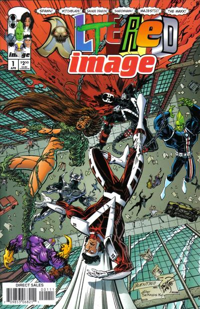 Cover for Altered Image (Image, 1998 series) #1