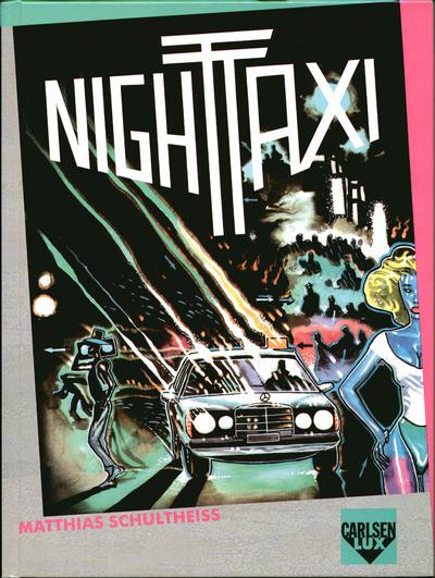 Cover for Carlsen Lux (Carlsen Comics [DE], 1990 series) #1 - Night Taxi