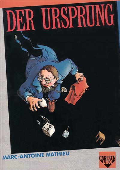 Cover for Carlsen Lux (Carlsen Comics [DE], 1990 series) #10 - Der Ursprung