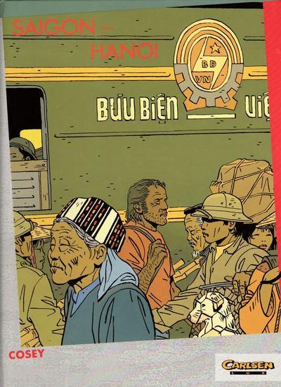 Cover for Carlsen Lux (Carlsen Comics [DE], 1990 series) #33 - Saigon-Hanoi
