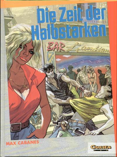 Cover for Carlsen Lux (Carlsen Comics [DE], 1990 series) #34 - Die Zeit der Halbstarken