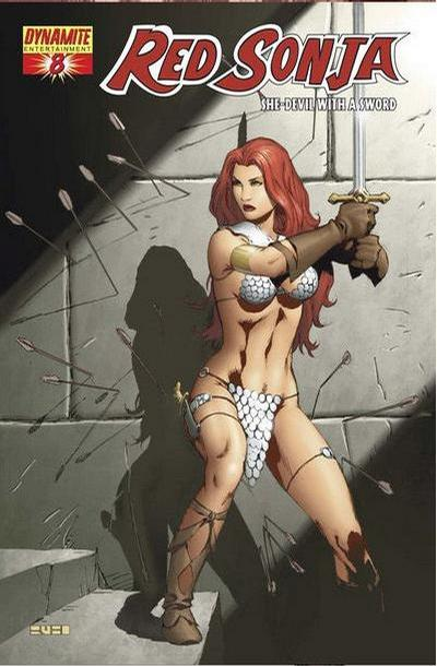 Cover for Red Sonja (Dynamite Entertainment, 2005 series) #8 [Mel Rubi Cover]