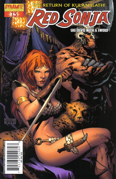 Cover for Red Sonja (Dynamite Entertainment, 2005 series) #13 [Mel Rubi Cover]