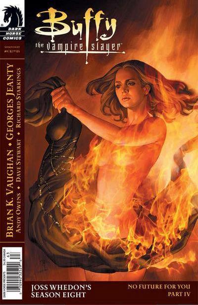 Cover for Buffy the Vampire Slayer Season Eight (Dark Horse, 2007 series) #9 [Jo Chen Cover]
