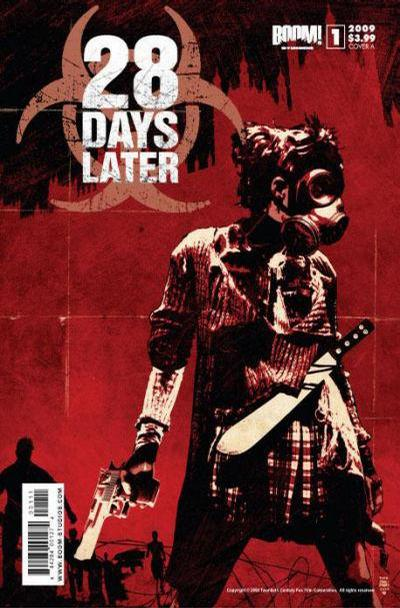 Cover for 28 Days Later (Boom! Studios, 2009 series) #1 [Cover D - Promo Art]