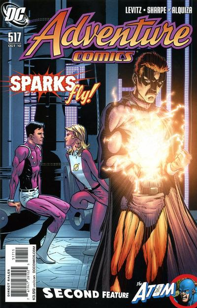 Cover for Adventure Comics (DC, 2009 series) #517