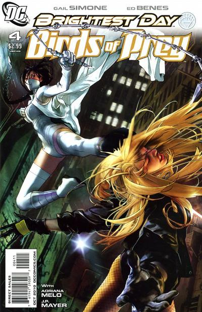 Cover for Birds of Prey (DC, 2010 series) #4