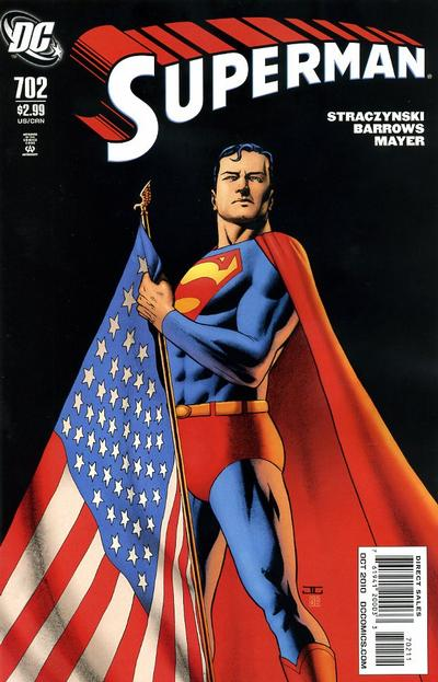 Cover for Superman (DC, 2006 series) #702 [25 for 1 Variant]