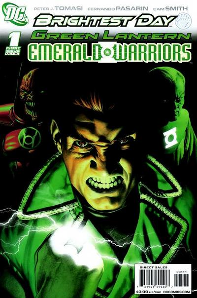 Cover for Green Lantern: Emerald Warriors (DC, 2010 series) #1
