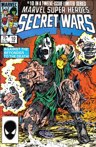 Cover for Marvel Super-Heroes Secret Wars (Marvel, 1984 series) #10 [Newsstand Edition]