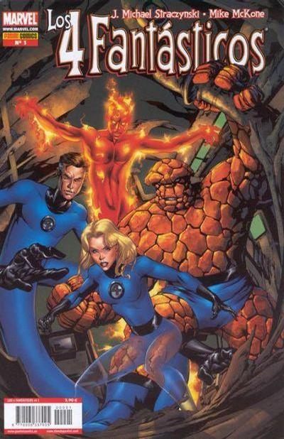 Cover for Los 4 Fantásticos (Panini España, 2006 series) #1
