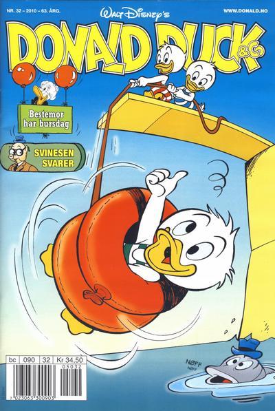 Cover for Donald Duck & Co (Hjemmet / Egmont, 1948 series) #32/2010