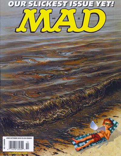 Cover for MAD (EC, 1952 series) #505