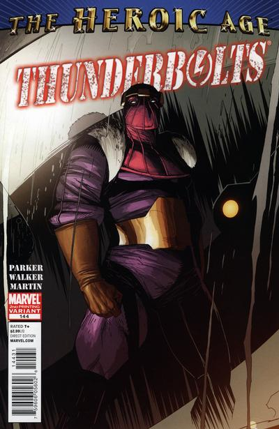 Cover for Thunderbolts (Marvel, 2006 series) #144