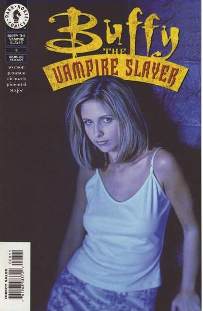Cover for Buffy the Vampire Slayer (Dark Horse, 1998 series) #8 [Photo Cover]