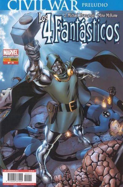 Cover for Los 4 Fantásticos (Panini España, 2006 series) #11