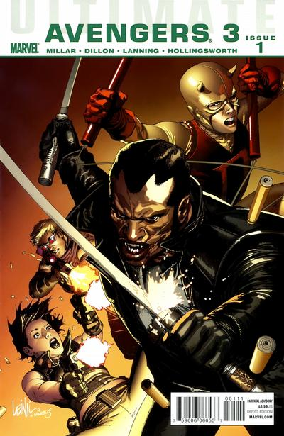Cover for Ultimate Avengers (Marvel, 2009 series) #13 [Foilogram Variant Edition]